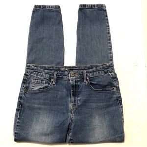 Mossimo High Rise Skinny Denim Jeans Size 8